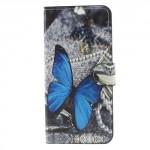 Koženkové pouzdro Huawei Mate 10 Lite - Motýl 04