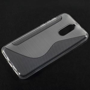 Pouzdro / Obal S-curve Huawei Mate 10 Lite - Šedé