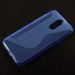 Pouzdro / Obal S-curve Huawei Mate 10 Lite - Modré