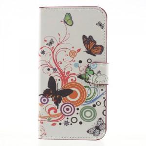 Pouzdro Galaxy J7 (2017) - Motýli 03