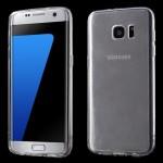 Pouzdro / Obal Galaxy S7 Edge - Průhledné