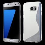 Pouzdro S-Curve Galaxy S7 Edge - Průhledné