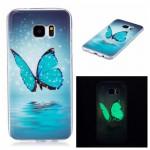Pouzdro Galaxy S7 Edge - Motýli