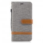 Pouzdro Huawei Mate 9 - textil - šedé