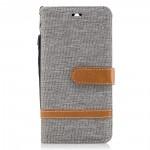 Pouzdro Huawei Y6 2017 - textil - šedé