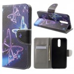 Koženkové pouzdro Huawei Mate 10 Lite - Motýli 06