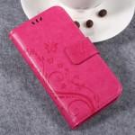 Pouzdro Huawei Y3 II - růžové květy