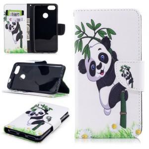 Koženkové pouzdro Huawei P9 Lite Mini - Panda 01