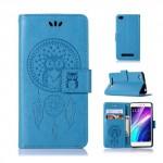 Pouzdro Xiaomi Redmi 4a - lapač snů - modré