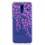 Pouzdro / Obal  Huawei Mate 10 Lite - průhledné - květy