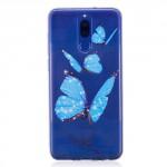 Pouzdro / Obal  Huawei Mate 10 Lite - průhledné - motýli 02