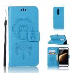 Koženkové pouzdro Nokia 5 - Lapač snů - Modré