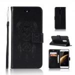 Koženkové pouzdro Nokia 5 - Lapač snů - Černé