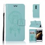 Koženkové pouzdro Nokia 5 - Lapač snů - Tyrkysové
