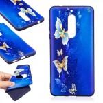 Pouzdro Nokia 5 - motýli