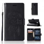Koženkové pouzdro Nokia 3 - Lapač snů - Černé