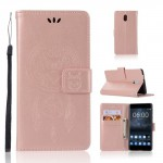 Koženkové pouzdro Nokia 3 - Lapač snů - Růžové