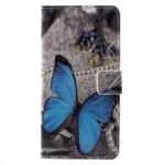 Koženkové pouzdro Nokia 6 - Motýl