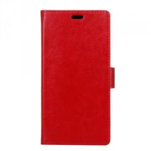 Koženkové pouzdro Nokia 6 - červené