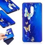 Pouzdro / Obal Nokia 6 - Motýli 03