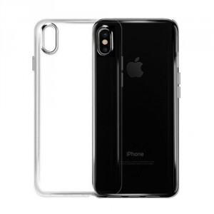 Pouzdro / Obal iPhone X - průhledné