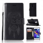 Pouzdro Huawei Nova Smart - lapač snů - černé
