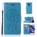 Pouzdro Huawei Nova Smart - lapač snů - modré