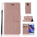 Pouzdro Huawei Nova Smart - lapač snů - růžové