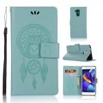 Pouzdro Huawei Nova Smart - lapač snů - tyrkysové