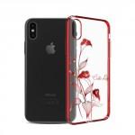 Kryt / Obal iPhone X - Kala - s kamínky Swarovski