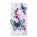 Koženkové pouzdro Honor 7X - Motýli