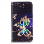 Koženkové pouzdro Huawei Mate 10 Lite - Motýl 08