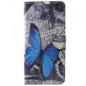 Koženkové pouzdro Honor View 10 - Motýl 02