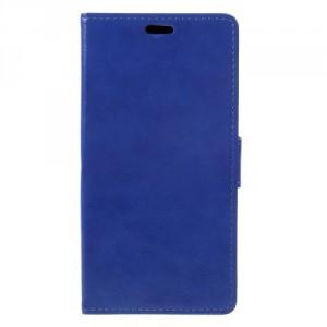 Koženkové pouzdro Honor 6C Pro - modré