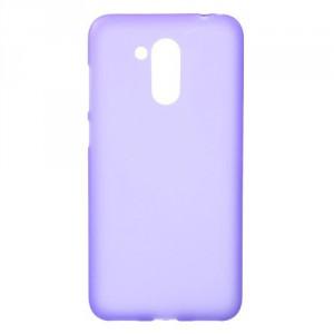 Matné pouzdro Honor 6C Pro - fialové