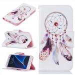 Koženkové pouzdro Samsung Galaxy S7 - lapač snů 06