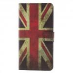 Koženkové pouzdro Nokia 8 - Union Jack