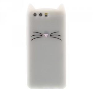 Pouzdro / Obal Huawei P10 - Kočka - průhledné