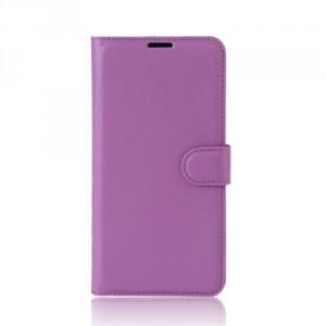 Koženkové pouzdro Honor 8 Pro - fialové