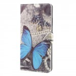 Koženkové pouzdro Honor 8 Pro - Motýl