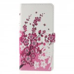 Koženkové pouzdro Nokia 8 - Květy 02