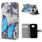 Pouzdro Samsung Galaxy S6 Edge - Motýl