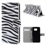 Pouzdro Samsung Galaxy S6 Edge - Zebra