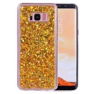 Pouzdro Galaxy S8+ Zlaté třpytivé