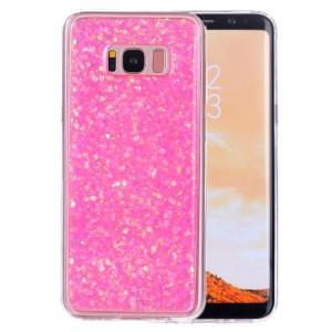 Pouzdro Galaxy S8+ Růžové třpytivé