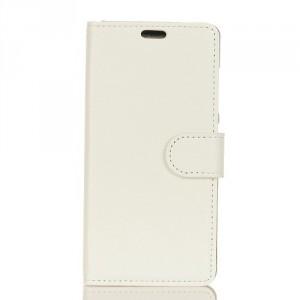 Koženkové pouzdro Xperia XA2 - Bílé