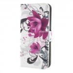 Koženkové pouzdro Xperia XA1 - Květy 02