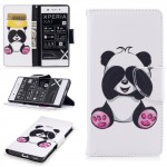Koženkové pouzdro Xperia XA1 - panda