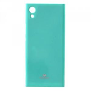 Obal  Jelly Case Xperia XA1 - tyrkysový třpytivý