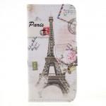 Koženkové pouzdro Honor 9 Lite - Eiffelovka 03